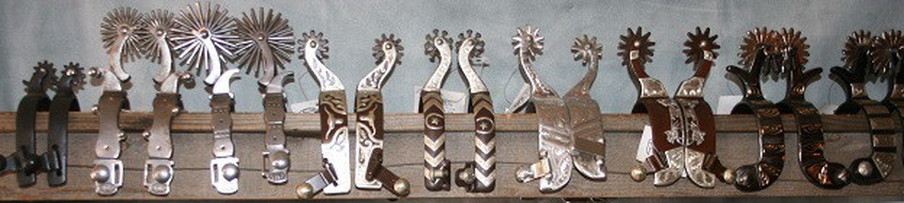 Authentic Collectible Cowboy Spurs for Sale at Cowboy Collectibles