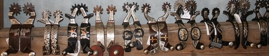 Authentic Collectible Cowboy Spurs for Sale